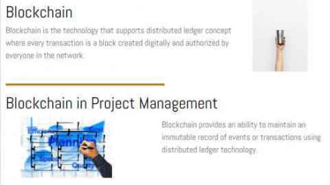 What is Blockchain in Project Management?