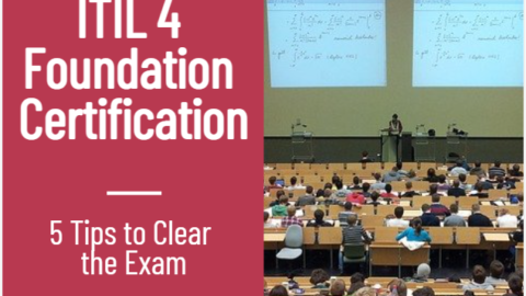 ITIL 4 Foundation Certification Exam Training